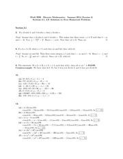 Discrete mathematics homework help