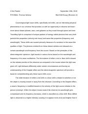 Red Shift Essay (Revision 2).docx