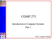 COMP 273 Lecture 2 - CPU details