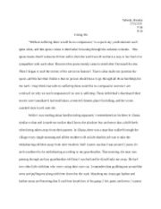 Reaction Paper to holocaust