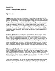 Honors 110 Study Guide Final Exam