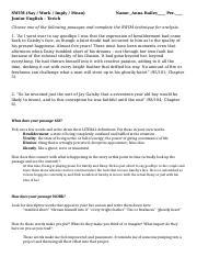 passage analysis essay great gatsby