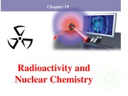 Chapter 19 - Nuclear Chemistry