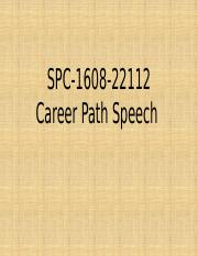 Career Path Speech.pptx