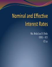 CE22 -06- Nominal Effective Interest Rate