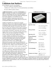 Lithium-ion battery - Wikipedia, the free encyclopedia