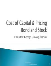 Cost_of_Capital_Pricing_Bond_and_Stock.pps