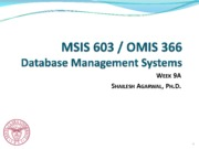 DBMS-Week-9A-Catalog-Datawarehousing