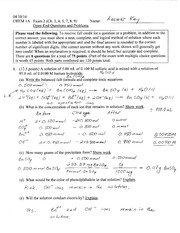 Exam2_Ans_Key_Problems_Chem1A_Sp2014