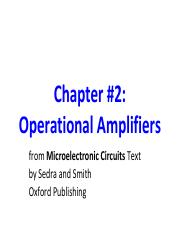 Chapter 2 Operational Amplifiers.pdf