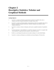 End Solutions Statistics chapter 2