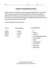 Caregiving-101-Responsibilities-Group-Project
