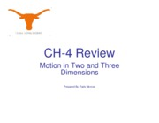 CH-4 Review