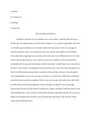 AR JFK Assassination Paper.docx