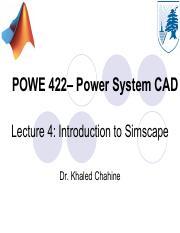 Lab - 01 pdf - Lab 01 Power System Analysis – Weekly Lab