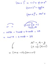 Section 4 Lecture on Precalculus