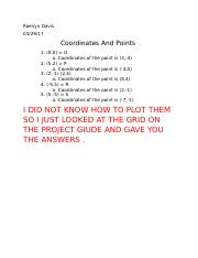 Coordinates And Points