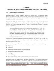 Chapter 3 Overview of Wind Energy and Other Sources of Electricity UPDATED 10022012.docx