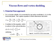 OT5201 (pdf) 4. Viscous Flows and Vortex Shedding