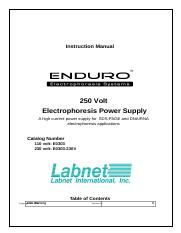 ENDURO_250V_Power_Supply_Manual.doc