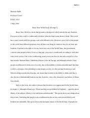Essay 2 Brave New World.docx