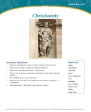 Christianity Unit 2 Lesson 5