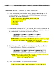 Quiz 05 Midterm Practice - Additional Database Objects--with Answers.pdf