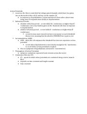 BioE 110 Chapter 1 Notes