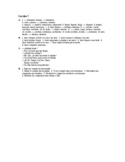 Â¡Hola, amigos! Workbook Answer Key Lec.7 A-D