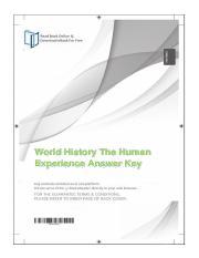 Case Study.02.pdf - World History The Human Experience ...