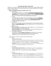 Sociology 100 Exam 1 Study Guide