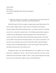 env chg and social justice assignment 1.docx