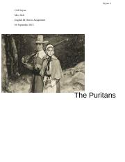 The Puritans (1)