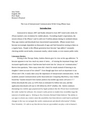 Final research paper proposal