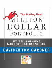 The Motley Fool Million Dollar Portfolio.pdf