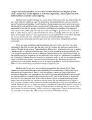 eve and pandora essay