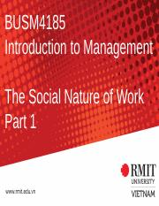 3. The Social Nature of Work.pptx