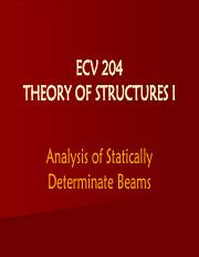 Theory of Structures I - Shear Force and Bending Moment.pdf