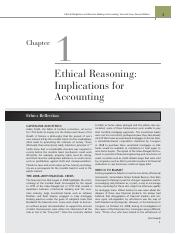 ethical obligations & decision making ch 1
