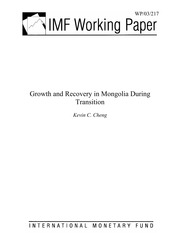 Growth and Recovery in Mongolia during Transition