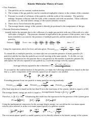 Kinetic Molecular Theory of Gases Handout.pdf
