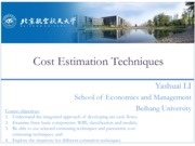 Engineering Economy 03 Cost Estimation