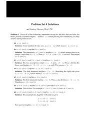 Solutions for homework 4