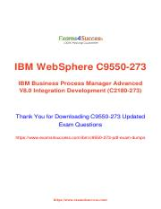 IBM C9550-273 Exam Questions answers.pdf