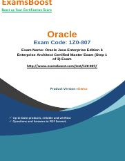 1Z0-807 Questions and Answers PDF
