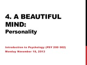 Lecture 21 - Personality Nov.18.13 (online)