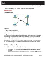 Configuring InterVLAN Routing.doc