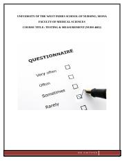 questionnaire assignment