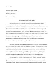 Jamison Holt Major essay 1 PRES. ABL EP (1)