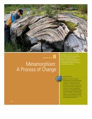 Chapter 8- Metamorphism A Process of Change
